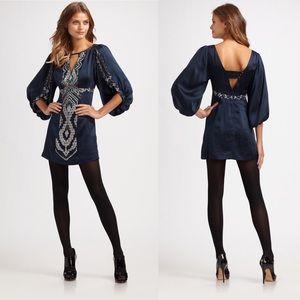 Nanette Lepore Black Star Crossed Dress